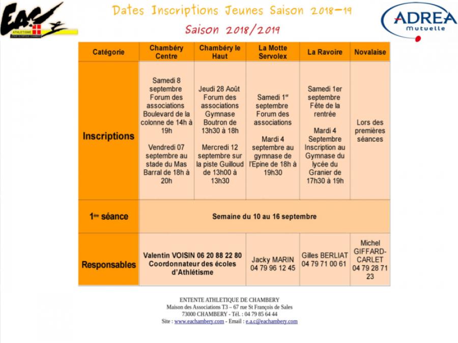 L Entente Athletique De Chambery Vous Recoit Pour Faciliter Vos Inscripitons Entente Athletique De Chambery Athletisme Trail Savoie